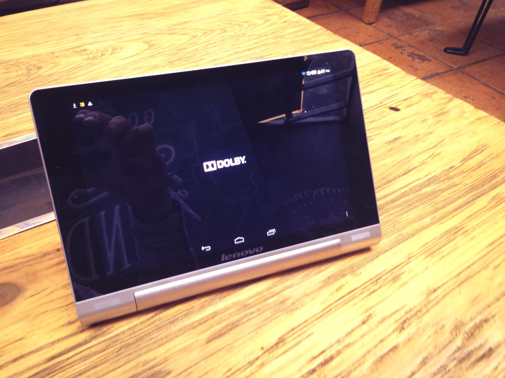 Lenovo Yoga with Dolby Surround Sound