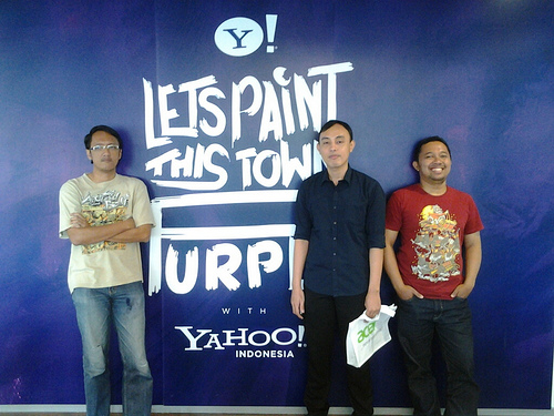 Launching Liquid E2 & Yahoo Indonesia Visit