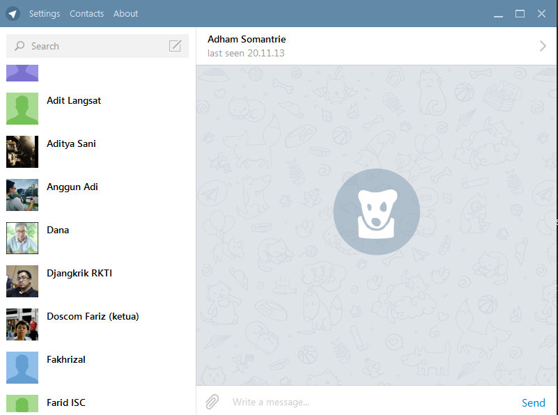 Telegram: Whatsapp Dengan Desktop !