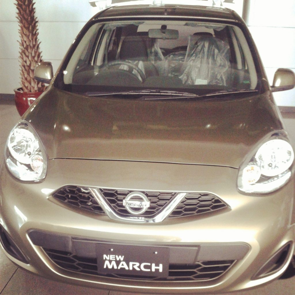 [Live Blogging] Introduction Nissan March
